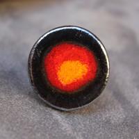 Bague céramique ronde